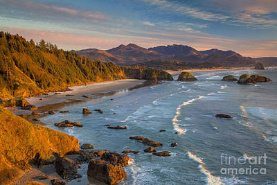 Photograph - Cannon Beach View - Oregon by Brian Jannsen