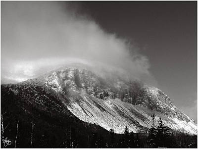 Photograph - Cannon Cliffs In The Clouds by Wayne King