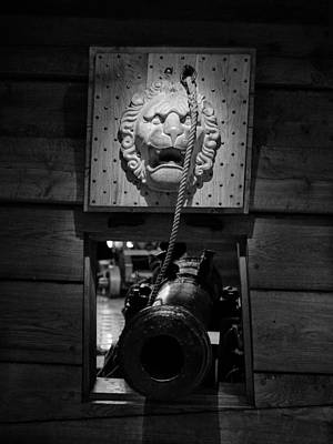 Photograph - Cannon Door. The Lion. Wasa-museum. Stockholm 2014 by Jouko Lehto