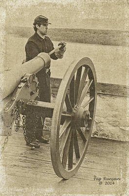 Photograph - Cannon Fire by Peg Runyan
