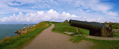 Cannon In A Fort, Suomenlinna Print by Panoramic Images