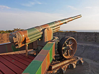 Photograph - Cannon In Fortress by Gill Billington