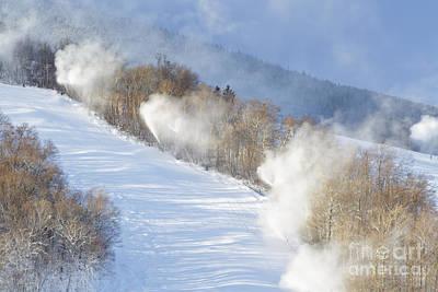 Cannon Mountain Ski Area - Franconia Notch State Park New Hampshire Art Print