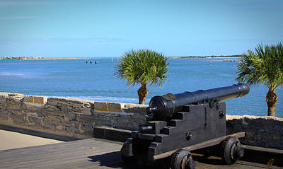 Photograph - Cannon Of Castillo De San Marcos by Chris Thomas