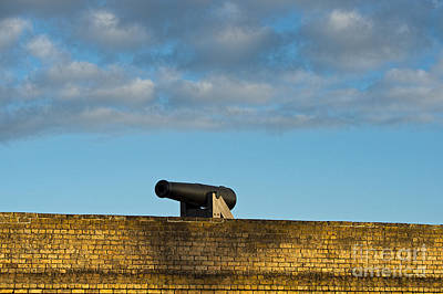 Photograph - Cannon On Fort Wall by David Arment