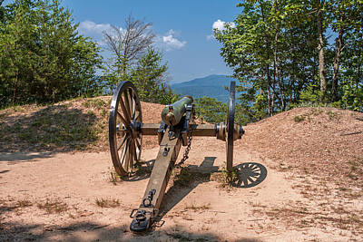 Photograph - Cannon On The Mountain by Mary Almond