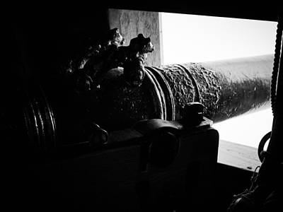 Photograph - Cannon. Wasa-museum. Stockholm 2014 by Jouko Lehto