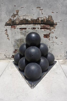 Photograph - Cannonballs by Laurie Perry