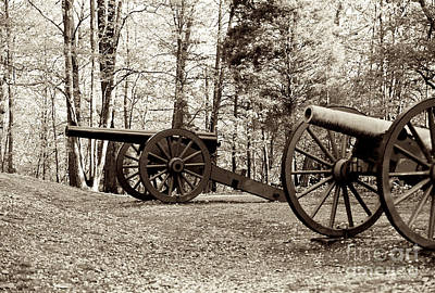 Photograph - Cannons II by Anita Lewis