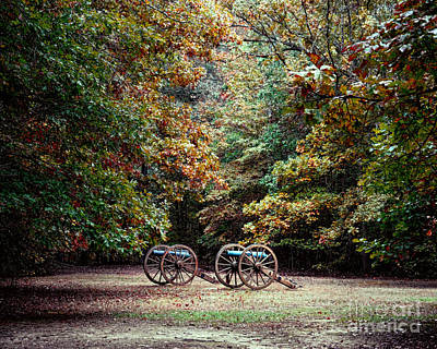 Photograph - Cannons In The Clearing by Jai Johnson
