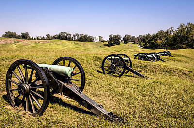 Photograph - Cannons by Maria Coulson