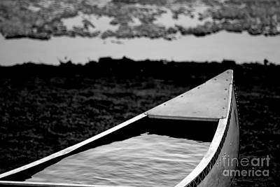 Photograph - Canoe Abandoned by A K Dayton