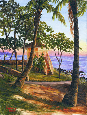 Painting - Canoe Beach by Darice Machel McGuire