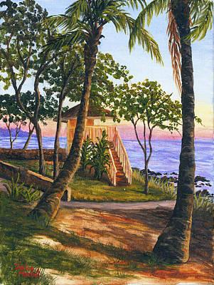 Painting - Canoe Beach by Darice Machel McGuire
