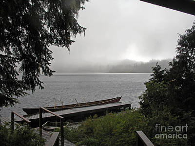 Photograph - Canoe Ride In Ketchican Ak by Cindy Murphy - NightVisions