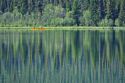 Photograph - Canoeing On Pyramid Lake by Stuart Litoff