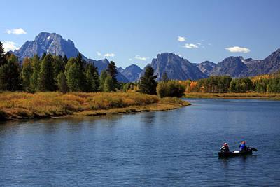 Photograph - Canoeing The Snake River by Aidan Moran
