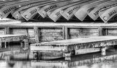 Canoe Photograph - Canoes At Sleeping Bear Dunes by Twenty Two North Photography
