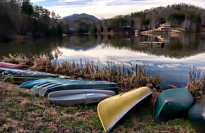 Photograph - Canoes In Nc by Bob Pardue