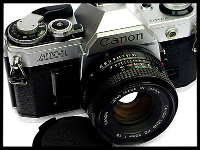 Photograph - Canon Ae1 Camera by James C Thomas