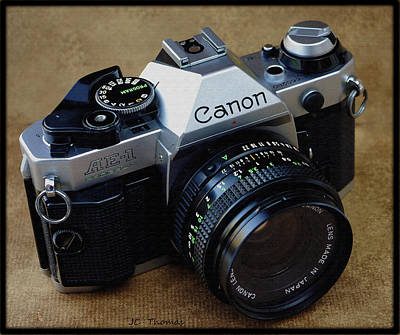 Photograph - Canon Ae1 Program by James C Thomas