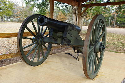 Photograph - Canon At Fort Washita by Robyn Stacey
