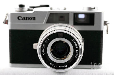 35mm Photograph - Canon by John Rizzuto