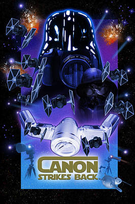 Canon Strikes Back Art Print
