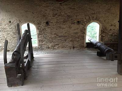 Photograph - Canons Of Marksburg Castle by John Potts