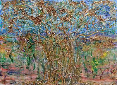 Tree Of Life Painting - Canopy by Regina Valluzzi