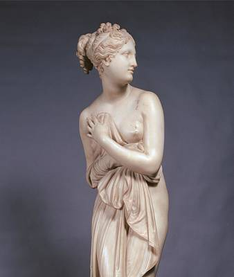 Nude Relief Photograph - Canova Antonio, Venus Italica, 1804 - by Everett