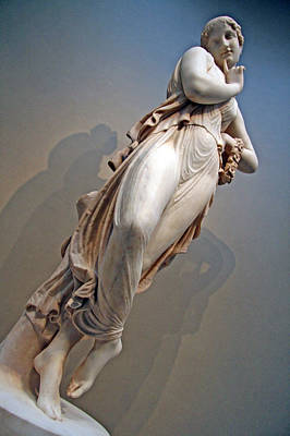 Photograph - Canova's Dancer With Finger On Chin by Cora Wandel