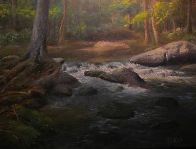 Painting - Can't Step Into The Same River Twice by Bill Puglisi