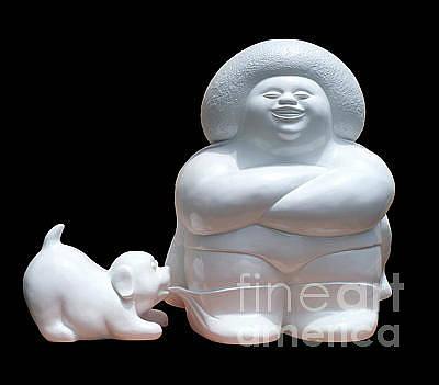 Andis Sculpture - Can't Stop Laughing by Adi Gunawan