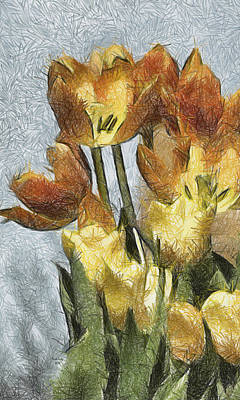 Can't Wait For Spring Print by Trish Tritz