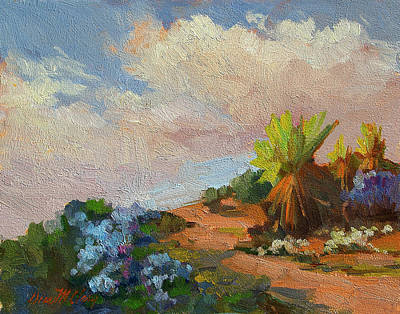 Painting - Canterbury Bells Joshua Tree by Diane McClary