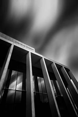 Canterbury Wall Art - Photograph - canterbury marlowe Theatre by Ian Hufton