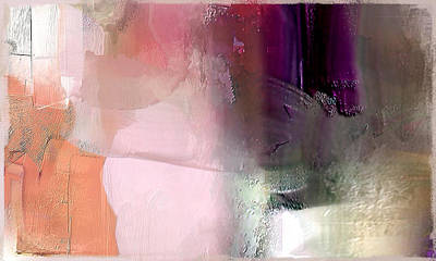 Canterbury Purple Art Print