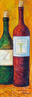 Mixed Media - Cantina Campione by Phyllis Howard