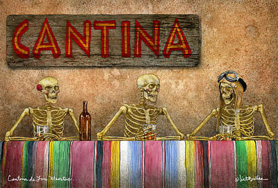 Cantina De Los Muertos... Original by Will Bullas