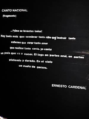 Canto Nacional  Art Print