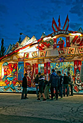 Canada Photograph - Canuck Fun House by Steve Harrington
