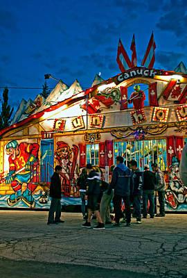 Family Night Out Photograph - Canuck Fun House by Steve Harrington