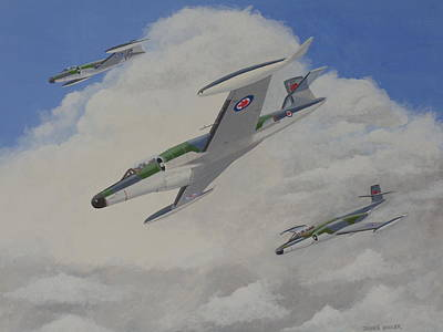 Painting - Canucks by James Lawler