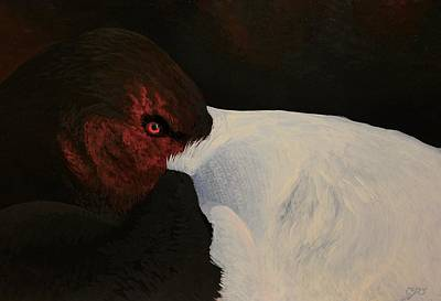 Painting - Canvasback  by Charles Owens