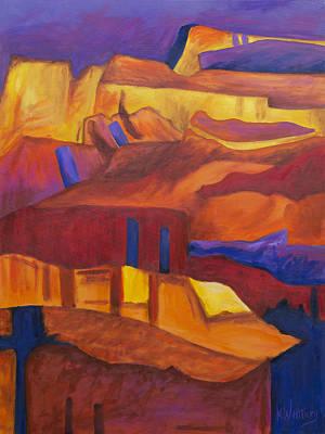 Unicorn Dust - Canyon at Sunset by Kristin Whitney