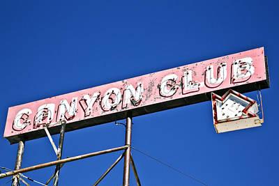 Canyon Club Art Print