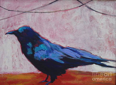 Painting - Canyon Crow by Virginia Dauth