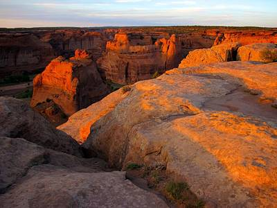 Photograph - Canyon De Chelly 1 by David Beebe