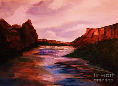 Painting - Canyon De Chelly 2 by Ellen Levinson